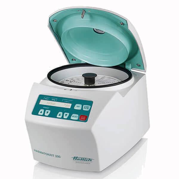 Hematologická centrifuga HAEMATOKRIT 200