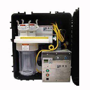 ClO2 dekontaminace - Dekontaminace pomocí oxidu chloričitého včetně utěsnění boxu