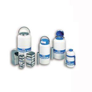 Kontejnery pro transport biologických vzorků (VOYAGEUR)