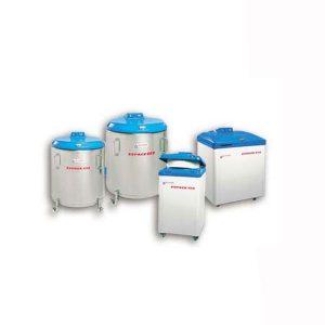 Kontejnery pro skladování vzorků v tekutém dusíku (ESPACE)