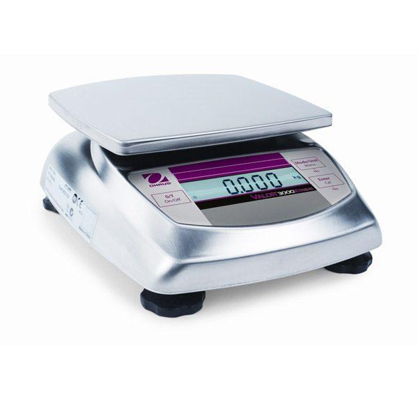 Odolné kompaktní váhy VALOR 3000