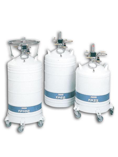 Tlakové kontejnery pro skladování tekutého dusíku (TP)