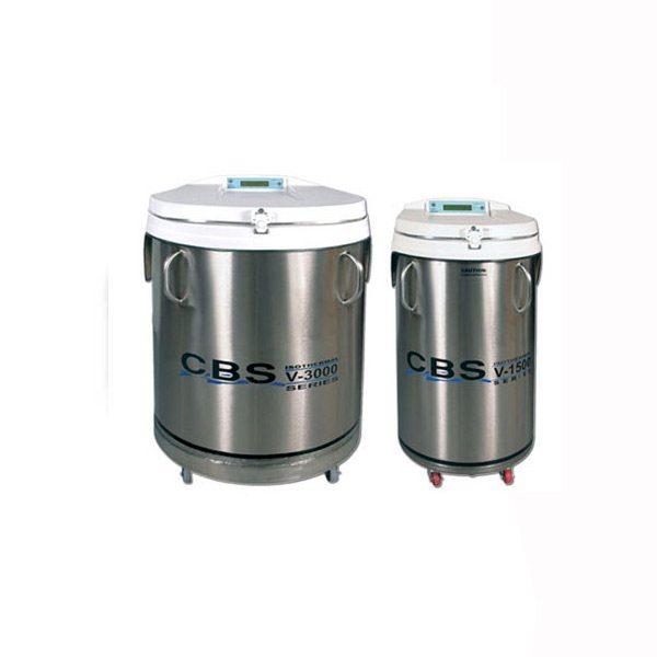 Uchovávání vzorků při -190°C (ISOTHERMAL)