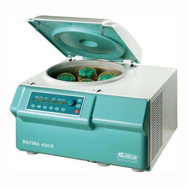 ROTINA 420 / 420R – Universální chlazená a nechlazená stolní centrifuga