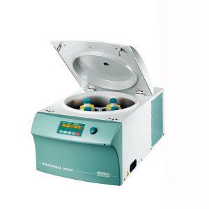 UNIVERSAL 320 / 320R – Universální chlazená a nechlazená stolní centrifuga