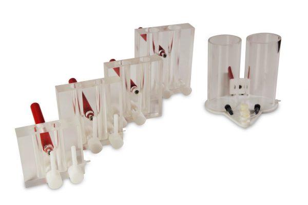 Vertikální elektroforéza (Gradient mixers)