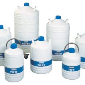 Malé kontejnery na tekutý dusík (TR)