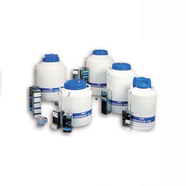 Skladování vzorků v tekutém dusíku (ARPEGE)