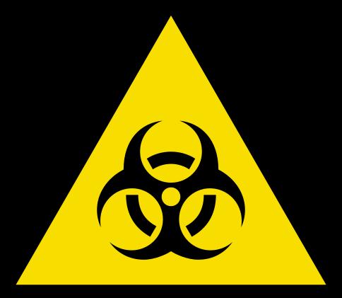 ClO2 Dekontaminace - bihazard boxů, laminárních boxů