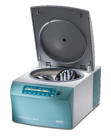 Homogenizační centrifuga (ZENTRIMIX 380 R)